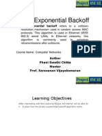 8Binary Exponential Backoff.ppt