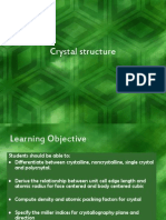 Crystal Structure (2008) (CHAPTER 1)