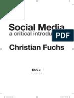 Fuchs Social Media A Critical Introduction