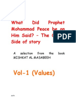 What Did Prophet Mohammad Said_Vol 1
