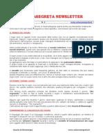 ScienzaSegreta Newsletter 1