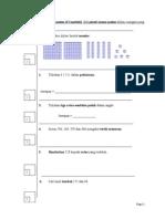 Ujian MT Tahun 2 - Mac 2014