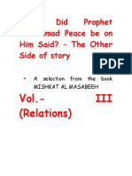 What Did Prophet Mohammad Said_Vol3