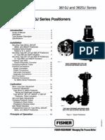 FisherControls Positioners-3610J 3620J