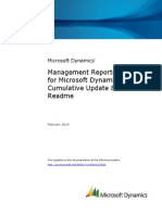 Management Reporter 2012 for Microsoft Dynamics™ ERP.