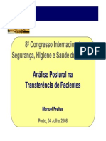 Analise Postural Na Transferencia de Pacientes