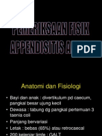 Pf Appendisitis Akuta