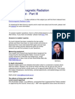 Dr. Neil Cherry Electromagnetic Radiation Threat Part 1
