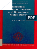 Brushless Permanent Magnet and Reluctance Motor Drives by Miller
