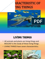 6.1 Characteristic of Living Things