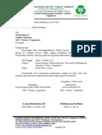 Surat Peminjaman Ruang Seminar Ftm GSC