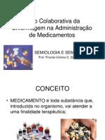 AULA ADMINISTRAÇÃO DE MEDICAMENTOS