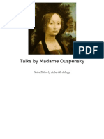 Robert de Ropp - Talks by Mme Ouspensky