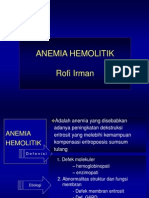 Anemia Hemolitik Rofi