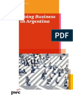 Doing Business in Argentina 2013 14 PWC