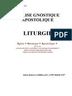 Eglise Gnostique Apostolique - Robert Amberlain