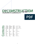 Deconstruction of Type