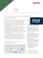 Tems Discovery Network 10.0 Datasheet