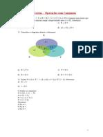 2 - Exercícios - Operações com Conjuntos