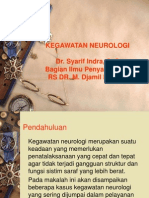 Kegawatan Neurologi (dr. Syarif Indra, SpS).ppt