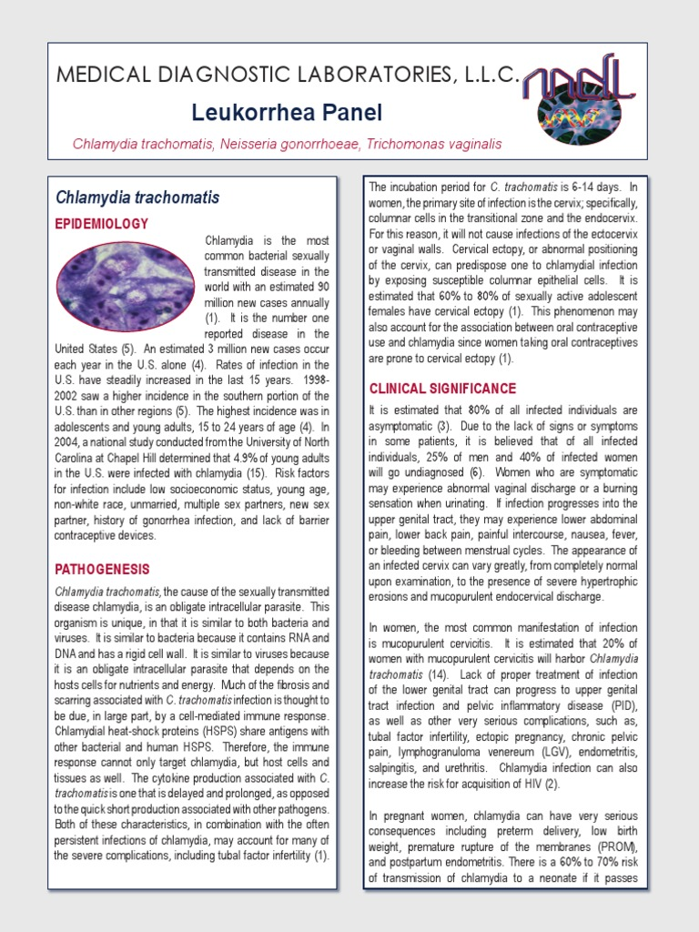 gonococcus mint Trichomonas)