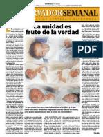 Observador Semanal del 06-03-2014