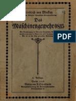 Friedrich von Merkatz  ''Das Maschinengewehr 08/15'' (1918)