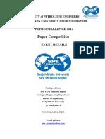 SPE UGM SC Petrochallenge 2014 Event Details