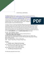 CONDITIONAL SENTENCES.rtf