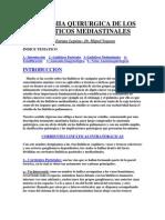 Anatomia Quirurgica de Los Linfaticos Mediastinales