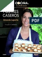Laporte Amanda - Postres Caseros