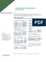 Corning SMF28e XB Bend Optimized Fiber Spec Sheet