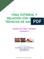 187216357 Yoga Integral y Relacion Con Otras Tecnicas de Sanacion