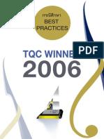 Best Practices TQC Winner 2006(1)