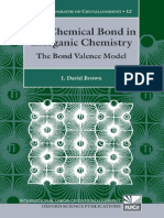 The Chemical Bond in Inorganic Chemistry - The Bond Valence Model - I. Brown (Oxford, 2002) WW