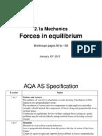 As 21a Forcesinequilibrium