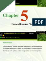 Ch 05-Human Resource Planning