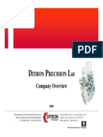 d It Ron Precision Company Overview