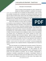 RESENHA EDUCAÇÃO E CONSCIENTIZAÇÃO - DANIEL