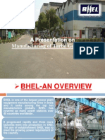 BHEL  PPT 2013