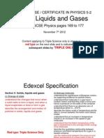 Igcse 52 Solidsliquids&Gases
