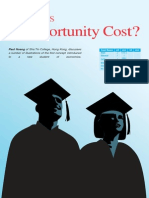 (218399336) Article What is Opportunity Cost