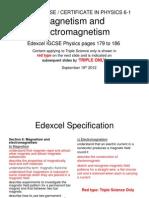 Igcse 61 Magnetism&Electromagnetism