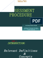 Assessement Procedure in Indian Income Tax