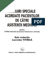 Manual de ingrijiri speciale acordate pacientilor de asistenti medicali - pentru colegiile si scolile postliceale sanitare, editia a 9-a