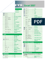 Shortcut Keys Excel-eBook