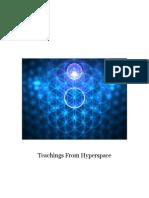 Teachings From Hyperspace
