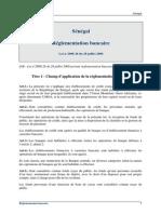 Senegal Loi 2008  Reglementation Bancaire