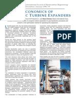 Economics of Cryogenic Turboexpander
