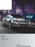 2014 Mercedes Benz CLS Class Owner's Manual